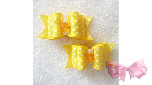Бантик желтый