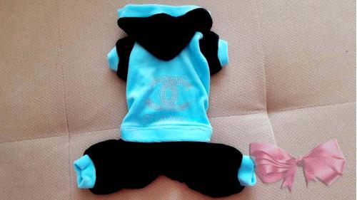 Шанель Голубо-черный