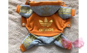 Спортивный костюм с начесом Adidas оранж