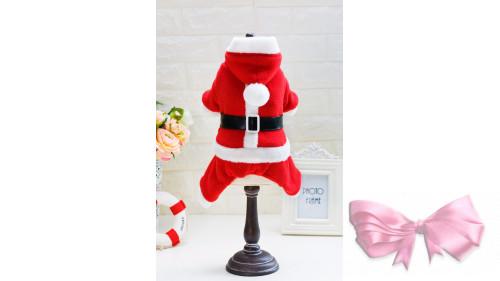 """Новогодний Костюм """"Дед мороз"""" с капюшоном"""