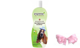 ESPREE (Эспри) Tea Tree & Aloe Shampoo - Шампунь для собак для проблемной сухой кожи