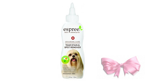 ESPREE (Эспри) TEAR STAIN & SPOT REMOVER Препарат для снятия «белковых веществ» для собак и кошек, 118 мл