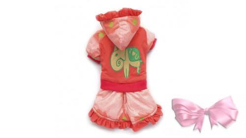 Куртка-платье розовая