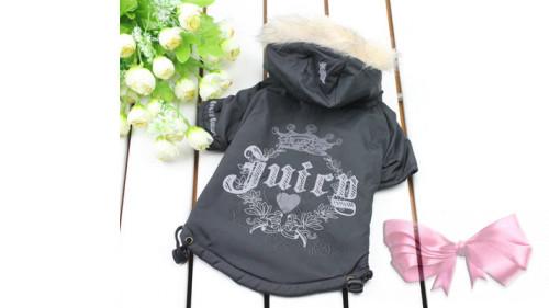 """Куртка """"Juicy"""" черная/розовая"""