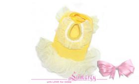 """Платье """"Fleece"""" желтое"""