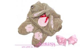 """Комбинезон """"Rabbit-plush"""" розовый"""