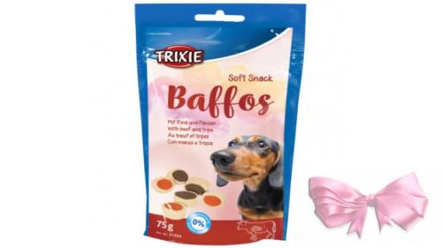 Trixie Лакомство для собак Baffos (говядина+желудок)
