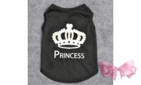 """Майка """"Princess"""" черная"""