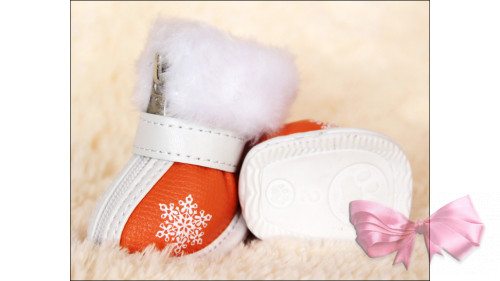 """Зимние ботинки """"Снежинка"""""""