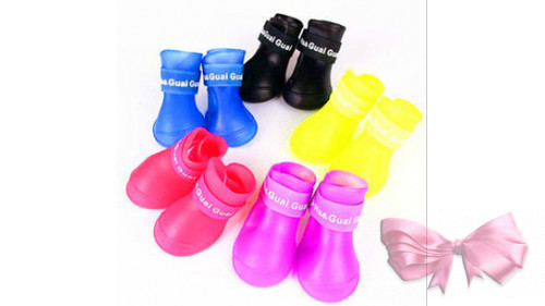 Резиновые ботинки