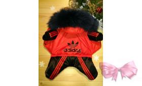 "Зимний Комбинезон ""Adidas"" красный"