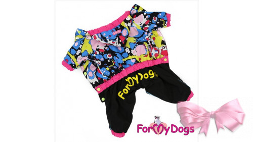 Водонепроницаемый дождевик для собак ForMyDogs для девочек