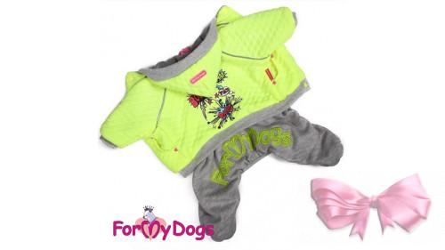 Костюм для собак ForMyDogs на меховом подкладке