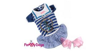 Платье для собак ForMyDogs Морячка