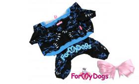 Костюм для собак ForMyDogs Тигр черный