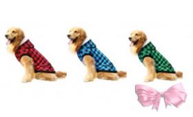 """Куртка """"Tartan"""" для крупных собак"""