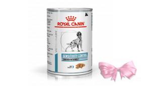 Royal Canin SENSITIVITY CONTROL with CHICKEN лечебный влажный корм для собак при пищевой аллергии (с курицей)