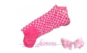 Дождевик На Шёлке Для Такс 'Greece-Girl' Розовый
