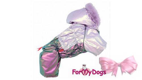 Комбинезон For my dog  фиолетовый на девочек 2