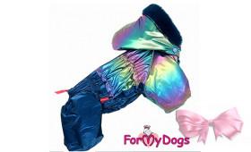 Комбинезон For my dog  фиолетовый намальчика