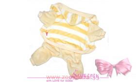 "Флисовый костюм  LIMARGY ""Band"" желтый"