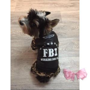 """Комбинезон зимний """"FBI"""""""